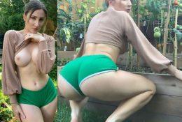 Holly Wolf NSFW Twerking in Garden of Eden Video