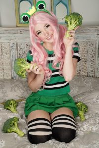 Belle Delphine Eats Your Greens Onlyfans Photos