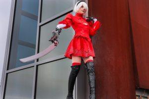 Meggii Cosplay 2B Red (Nier Automata)