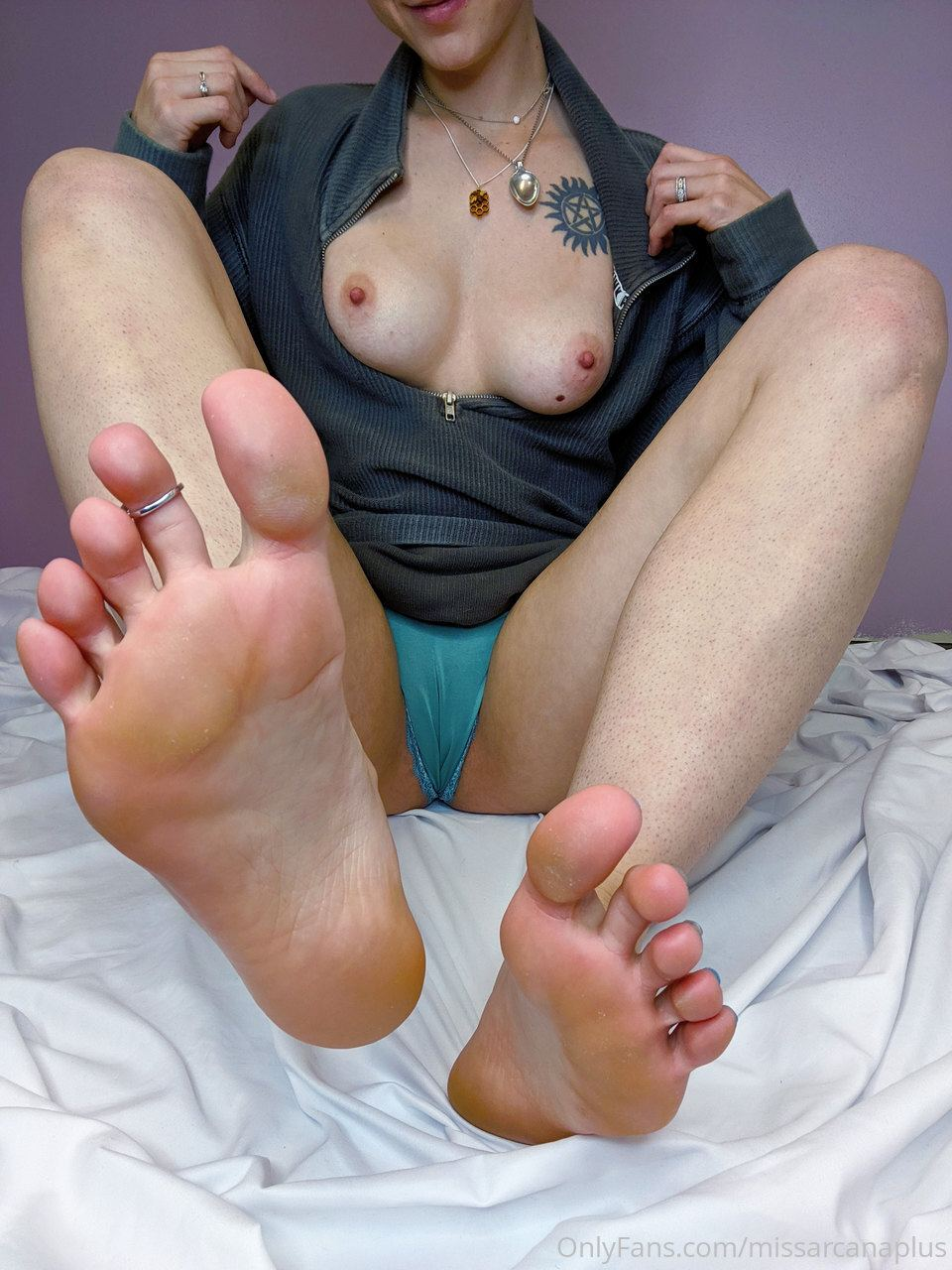 MissArcana Onlyfans Foot Fetish Nude Leaked