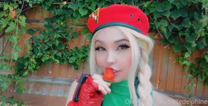 Belle Delphine Cammy Street Fighter