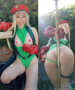 Belle Delphine Cammy Street Fighter