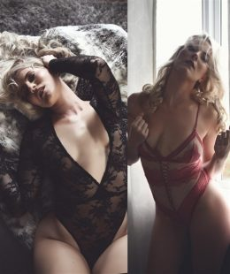 Kat Wonders Boudoir Lewd Lingerie Photoshoot