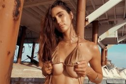 Natalie Roush OnlyFans Beach Bikini Video