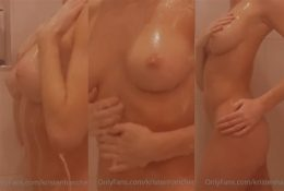 Kristen Hancher OnlyFans Nude Shower Porn Video