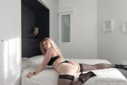 Lilliluxe OnlyFans Big Ass Lewd Lingerie Video