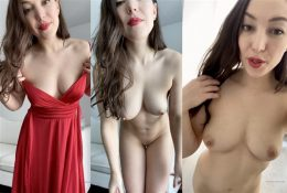 Orenda Naked Patry Dress Try On OnlyFans Leaked Video