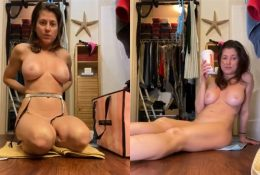 Heidi Lee Bocanegra Nude Try On in Bathroom Video