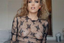 ASMR Gina Carla Nude See Through Lingerie Video