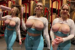 Mia Malkova Topless After Workout Video Leaked