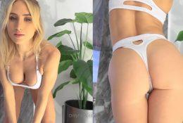 Lauren Dascalo NSFW White Lingerie Tease Video Leaked