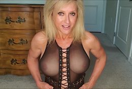 Reba Fitness See Through Bodysuit Stretch Video Leaked