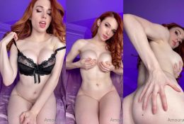 Amouranth Nude Striptease Fansly Video Leaked