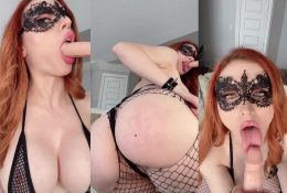 Amouranth Rough Me Up Blowjob Fansly Leaked Video