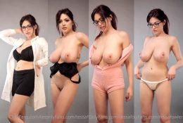 Tessa Fowler Nude Pajama & Lingerie TRY-ON Haul Video Leaked